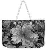 Black And White Weekender Tote Bag