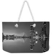 Black And White Rotterdam - The Netherlands Weekender Tote Bag