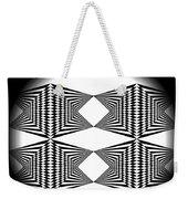 Black And White T-shirt Weekender Tote Bag