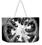 Black And White Tomato Weekender Tote Bag