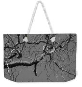 Black And White Tree Branch Weekender Tote Bag