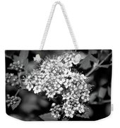Black And White Twinkle Weekender Tote Bag