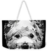 Black And White West Highland Terrier Dog Art Sharon Cummings Weekender Tote Bag