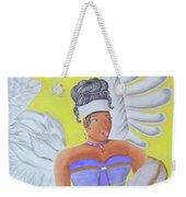 Black Angel Weekender Tote Bag