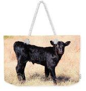 Black Angus Baby Calf Weekender Tote Bag