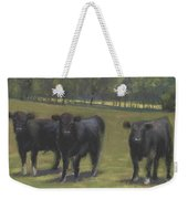 Black Angus Buddies Weekender Tote Bag