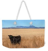 Black Angus Looking Weekender Tote Bag