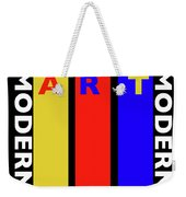 Black Art Weekender Tote Bag