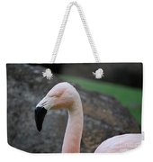Black Beak On A Chilean Flamingo Weekender Tote Bag