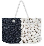 Black Beans And White Beans Weekender Tote Bag