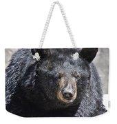 Black Bear 1 Weekender Tote Bag
