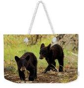 Black Bear Cubs Weekender Tote Bag