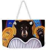 Black Bear Seraphim Weekender Tote Bag