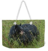 Black Bear Sow Weekender Tote Bag