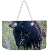 Black Bear Yellowstone Np_grk7085_05222018 Weekender Tote Bag