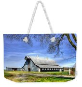 White Windows Historic Hopkinsville Kentucky Barn Art Weekender Tote Bag