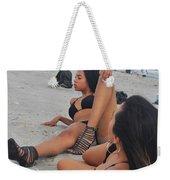 Black Bikinis 10 Weekender Tote Bag