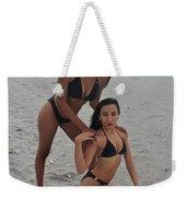 Black Bikinis 19 Weekender Tote Bag