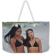 Black Bikinis 2 Weekender Tote Bag
