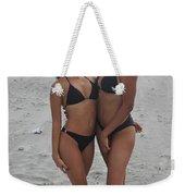 Black Bikinis 20 Weekender Tote Bag