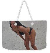 Black Bikinis 25 Weekender Tote Bag