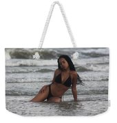 Black Bikinis 35 Weekender Tote Bag