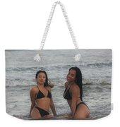 Black Bikinis 38 Weekender Tote Bag