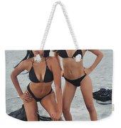 Black Bikinis 4 Weekender Tote Bag