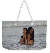 Black Bikinis 40 Weekender Tote Bag