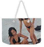 Black Bikinis 5 Weekender Tote Bag