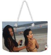 Black Bikinis 51 Weekender Tote Bag