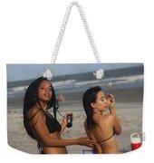 Black Bikinis 52 Weekender Tote Bag
