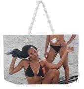 Black Bikinis 7 Weekender Tote Bag