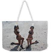 Black Bikinis 8 Weekender Tote Bag