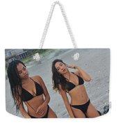 Black Bikinis Weekender Tote Bag