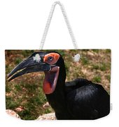 Black Bird Weekender Tote Bag