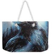 Black Bird Weekender Tote Bag