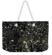 Black Bubbles Weekender Tote Bag