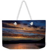 Black Butte Sunset Weekender Tote Bag