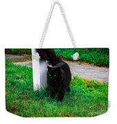 Black Cat Maine Weekender Tote Bag