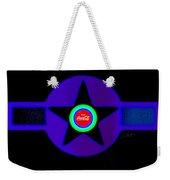Black Weekender Tote Bag