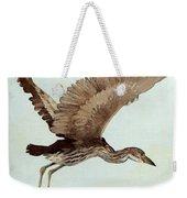 Black Crowned Night Heron 3junenile Roger Bansemer Weekender Tote Bag