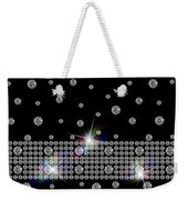 Black Diamonds Jewelry Art Weekender Tote Bag