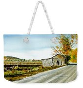 Black Dirt Morning Weekender Tote Bag