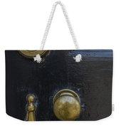 Black Door Weekender Tote Bag