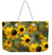 Black Eyed Susan Floral Weekender Tote Bag