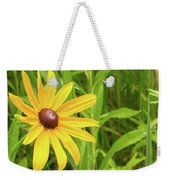 Black Eyed Susan V Weekender Tote Bag