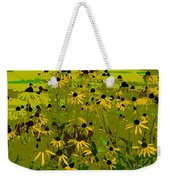 Black Eyed Susan Work Number 21 Weekender Tote Bag