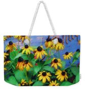 Black-eyed Susans At The Bag Factory Weekender Tote Bag