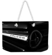 Black Falcon Weekender Tote Bag by David Lee Thompson